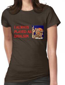 Street Fighter 2 Memories DHALSIM Womens Fitted T-Shirt