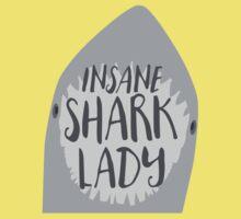 INSANE SHARK LADY One Piece - Short Sleeve