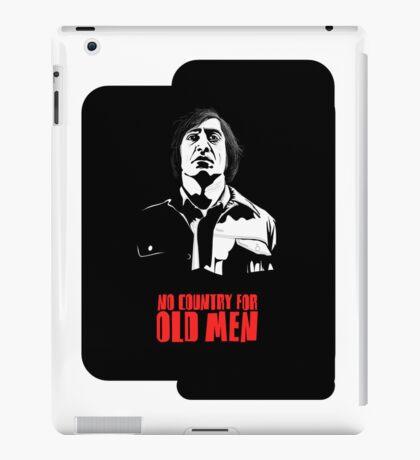Anton Chigurh (Javier Bardem) No Country For Old Men  iPad Case/Skin