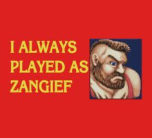 Street Fighter 2 Memories ZANGIEF by Jamie Meakin