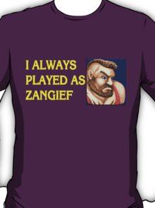 Street Fighter 2 Memories ZANGIEF T-Shirt