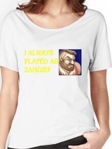 Street Fighter 2 Memories ZANGIEF Women's Relaxed Fit T-Shirt