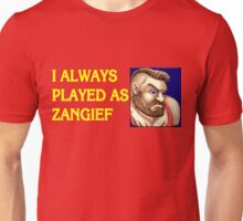 Street Fighter 2 Memories ZANGIEF Unisex T-Shirt