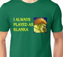 Street Fighter 2 Memories BLANKA Unisex T-Shirt