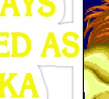 Street Fighter 2 Memories BLANKA Sticker