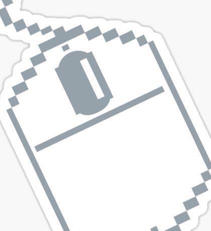 Digital computer mouse Sticker