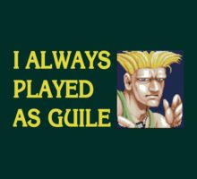Street Fighter 2 Memories GUILE by Jamie Meakin