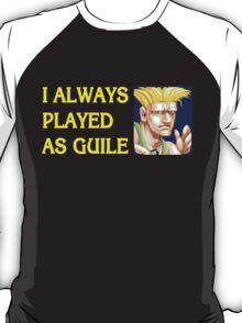 Street Fighter 2 Memories GUILE T-Shirt