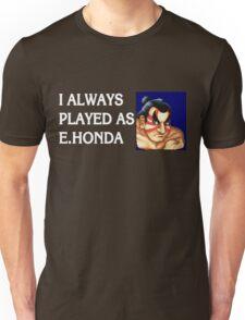 Street Fighter 2 Memories E.HONDA Unisex T-Shirt