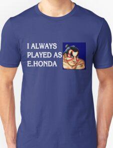 Street Fighter 2 Memories E.HONDA T-Shirt