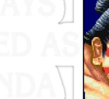 Street Fighter 2 Memories E.HONDA Sticker