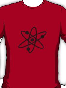 The Big Bang Theory Atom Logo 2 (in black) T-Shirt