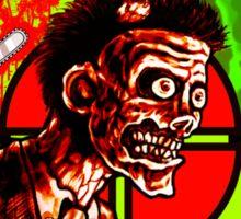 Zombie Apocalypse Survivor Type (Big Pic) Sticker