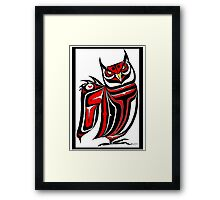 Horned Owl Framed Print