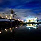 Anzac after dark by David Haworth