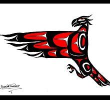Mohawk Eagle by Speakthunder