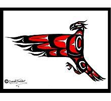 Mohawk Eagle Photographic Print