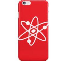 The Big Bang Theory Atom Logo 2 (in white) iPhone Case/Skin
