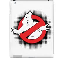 Original Ghostbusters Halftone Logo (in colour) iPad Case/Skin