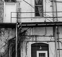 B&W The Back Door by Jake Kauffman