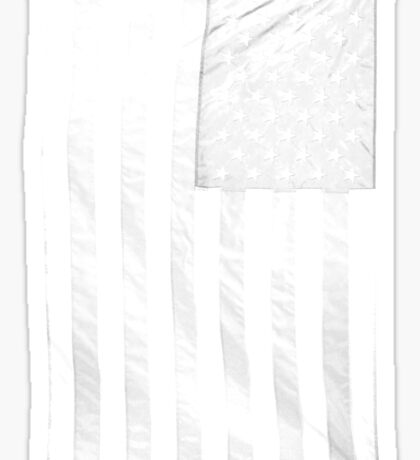 USA transparent Sticker
