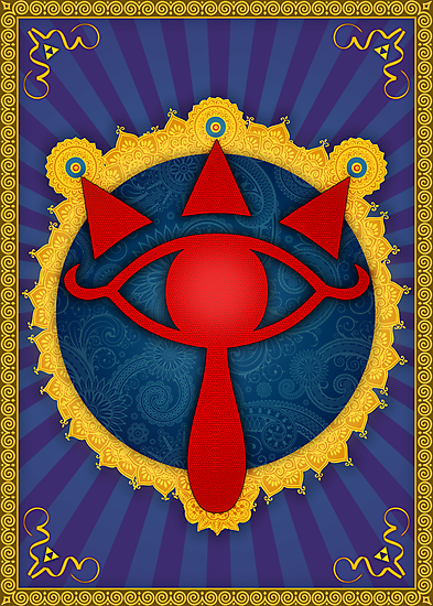 The Omniscient Sheikah Eye (Legend of Zelda) by enthousiasme