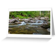 Rocky Valley Creek - Alpine National Park Victoria Greeting Card