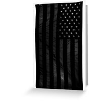 USA transparent Greeting Card