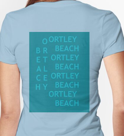 ORTLEY BEACH  Womens Fitted T-Shirt