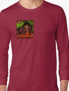 Voodoo Makes a Man Nasty! (Small Image/Rt Shoulder) Long Sleeve T-Shirt