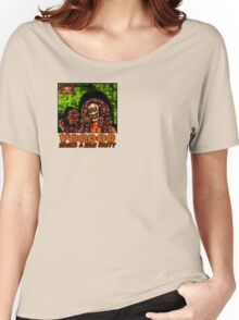 Voodoo Makes a Man Nasty! (Small Image/Rt Shoulder) Women's Relaxed Fit T-Shirt