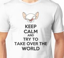 Keep Calm Brain Unisex T-Shirt