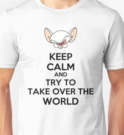 Keep Calm Brain Unisex T-Shirt