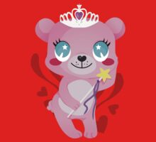 bear princess Kids Tee
