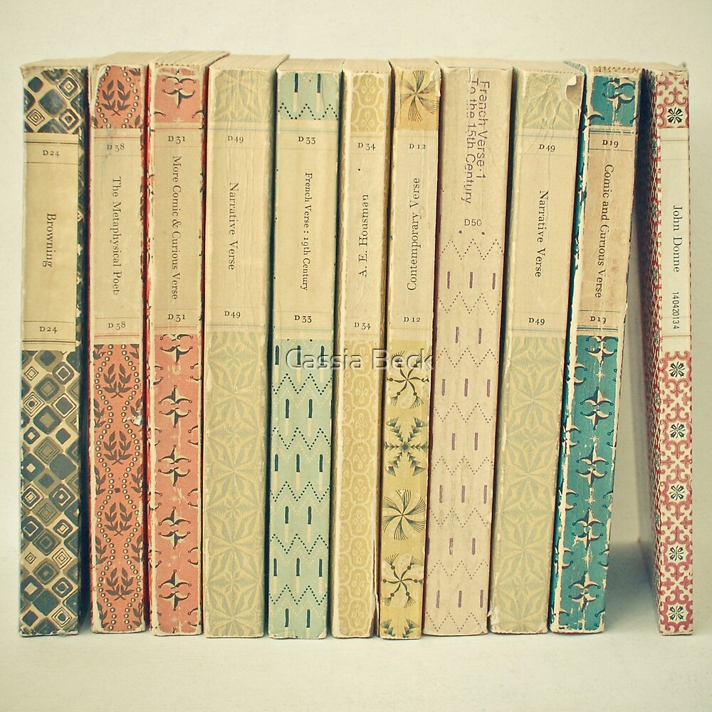 Old Books by Cassia Beck