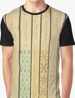 Old Books Graphic T-Shirt
