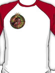 Zombie Apocalypse Survivor Type (Small Pic upr rt shoulder) T-Shirt