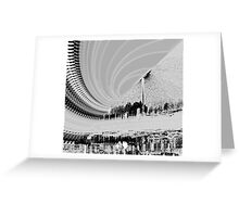 Rush Hour In The City Greeting Card