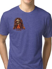 You Can Trust Me, I'm a Doctor (Small Image/Rt Shoulder) Tri-blend T-Shirt
