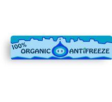 Mario Kart 8 Organic Antifreeze Canvas Print