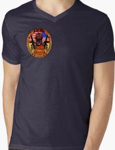 N.Carolina Zombie Extermination Squad (Upper rt shoulder) Mens V-Neck T-Shirt
