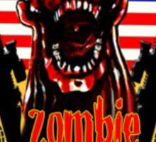 N.Carolina Zombie Extermination Squad (Upper rt shoulder) Sticker