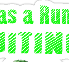 Run-By Fruiting Sticker