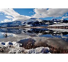 Slide Mountain Reflection Photographic Print