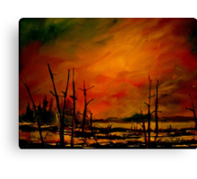 Northern Exposure.. Canvas Print