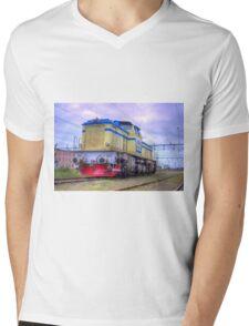 Locomotives of Värnamo I Mens V-Neck T-Shirt