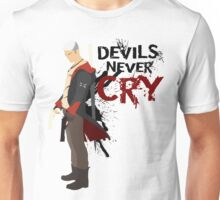 Devils Never Cry - White version Unisex T-Shirt