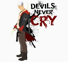 Devils Never Cry - White version Unisex T-Shirt