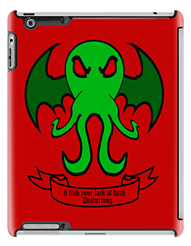 Cthulhu - I find your lack of faith disturbing by DavinciSMURF