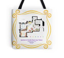 "Apartment of Chandler & Joey from ""FRIENDS"" Tote Bag"